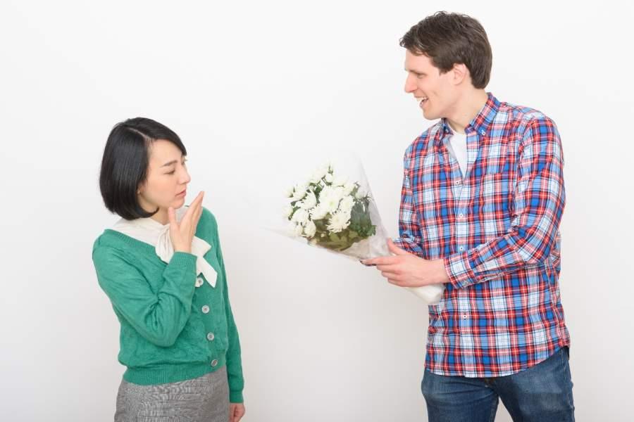 結婚を急ぐ男性
