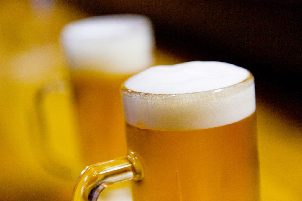 冷え切ったビール