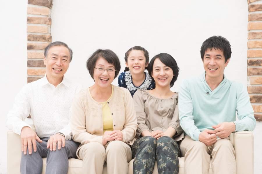仲良しの家族