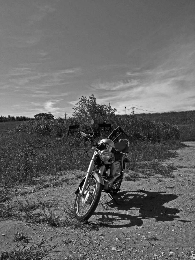 あのときの風景とバイク