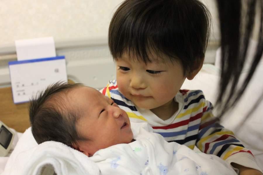 幼児期の兄弟