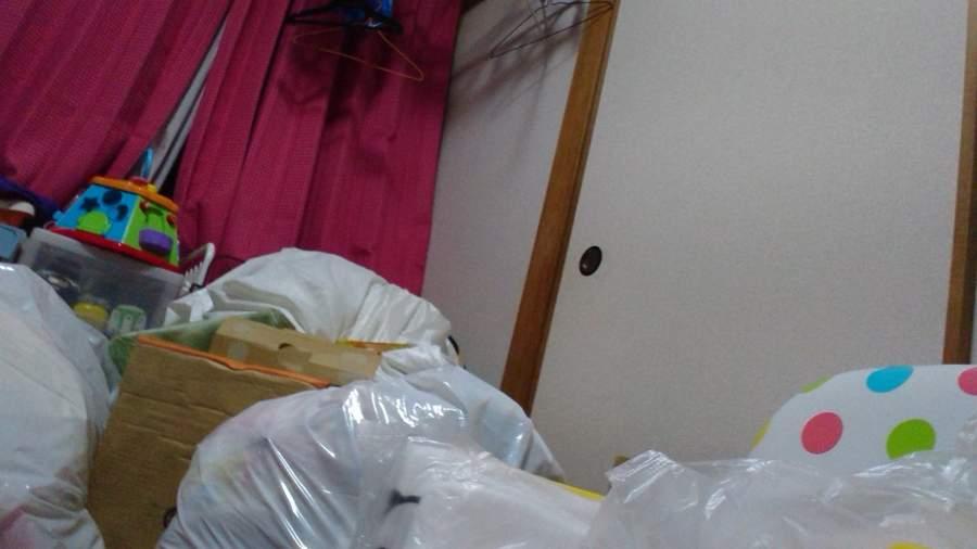 ゴミだらけの部屋