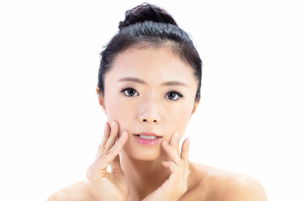 美容に気をつける女性