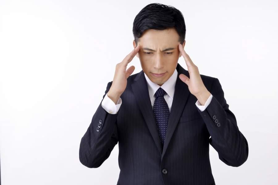 ストレスを抱える社会人