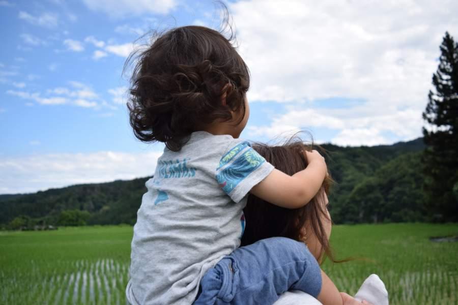 田舎に住む子供