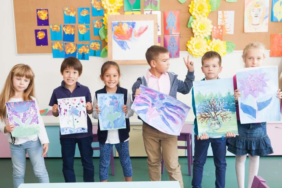 絵画の授業