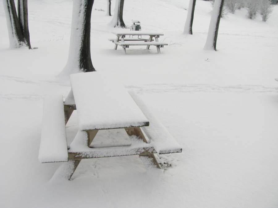 イタリアの冬